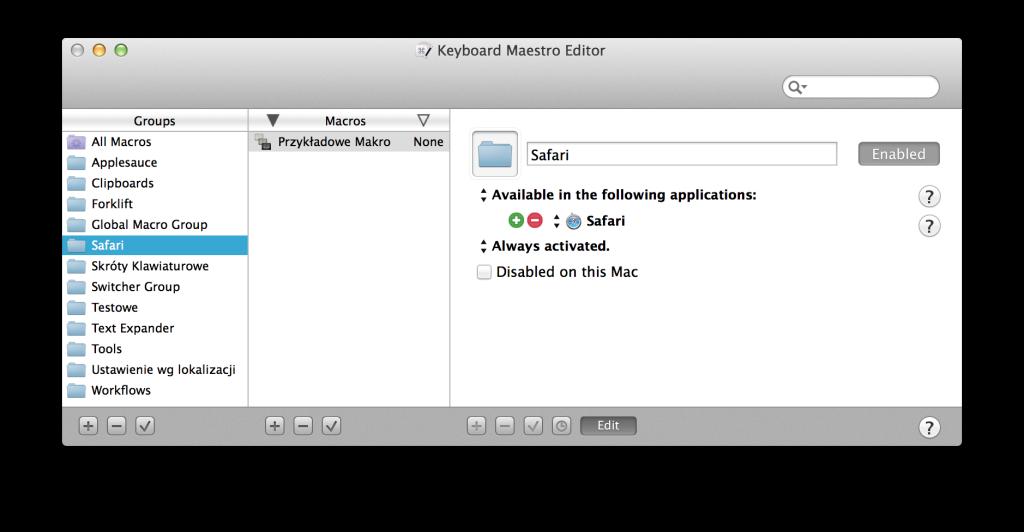 keyboard_maestro_grupy